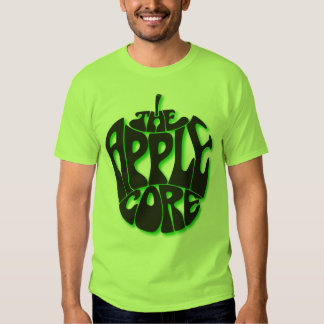 Apple Core Lime Green T-shirt in Men's Extra Large