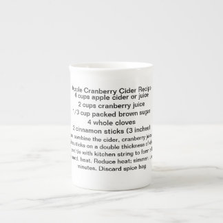 Apple Cranberry Cider Mug Bone China Mug