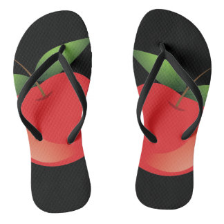 Apple Custom Slim Straps Flip Flops