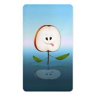 Apple Cut Business Cards