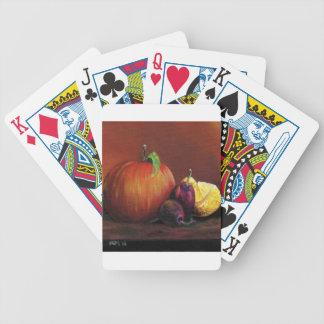 Apple, Damson and Lemon Bicycle Playing Cards