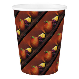 Apple, Damson and Lemon Paper Cup