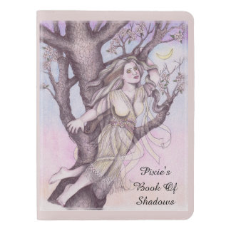 Apple Dryad Fairy Faerie Lg. Travel BOS Grimoire Extra Large Moleskine Notebook