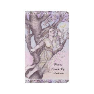 Apple Dryad Fairy Faerie Md. Travel BOS Grimoire Large Moleskine Notebook