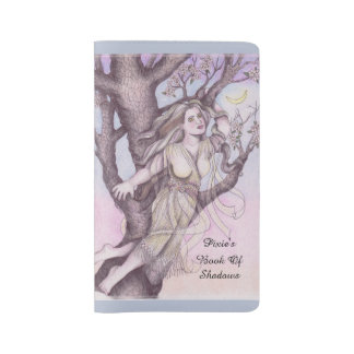 Apple Dryad Fairy Faerie Md. Travel BOS Grimoire Large Moleskine Notebook