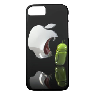apple eating android case