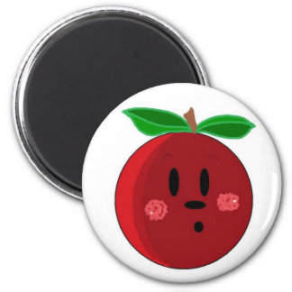 Apple Face Magnet