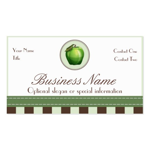 Apple Fibers Business Cards