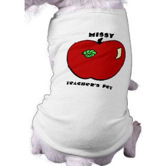 Apple for the Teacher Pet Apparel Shirt