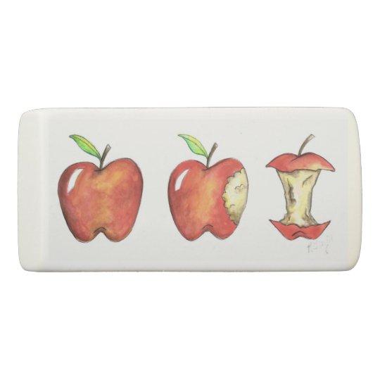 Apple for the Teacher School Education Customized Eraser