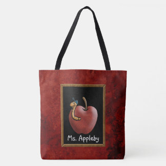 Apple for the Teacher Tote Bag