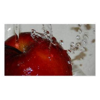 Apple Fruit Business Card
