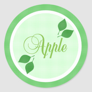 Apple Fruit Label Sticker