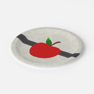 Apple Fruit Paper Plate