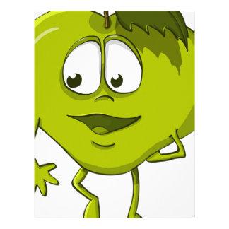 Apple Funny Kindness Cartoon Character Sheet Cute
