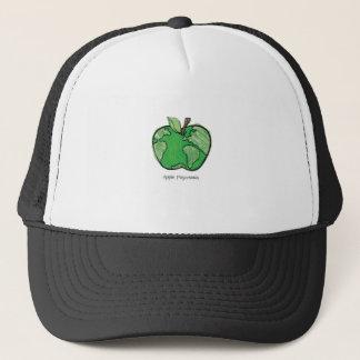 Apple Globe gear Trucker Hat