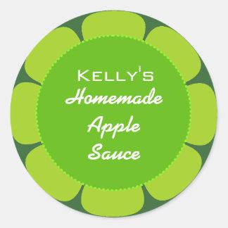 Apple gooseberry label