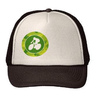Apple Green Camo; Cycling Trucker Hats