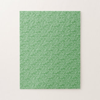 Apple Green Fractal-Style Jigsaw Puzzle