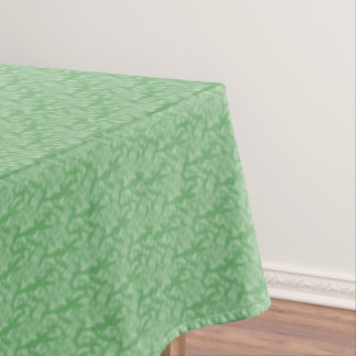 Apple Green Fractal-Style Tablecloth