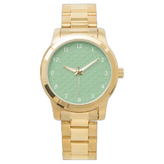 Apple Green Fractal-Style Watch