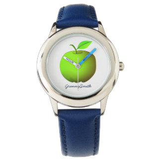 Apple Green Fresh Granny Smith Fruit Stylish Cool Watch