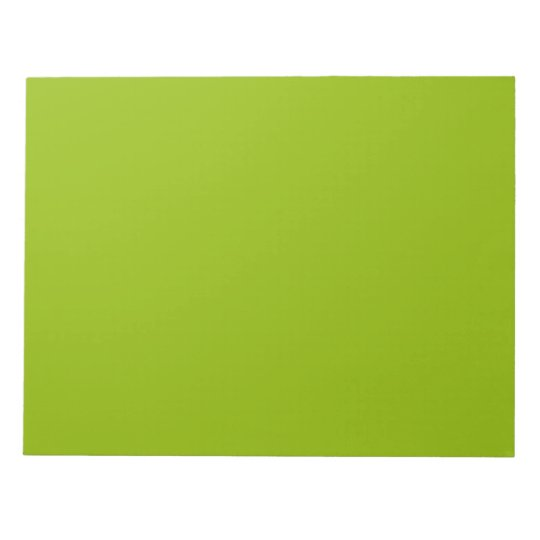 Apple Green Notepad