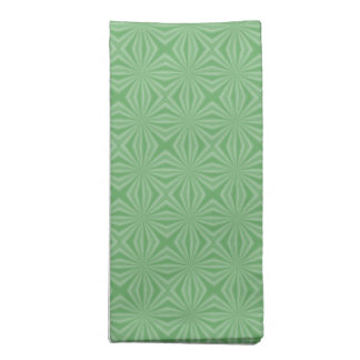 Apple Green Squiggly Square Napkin