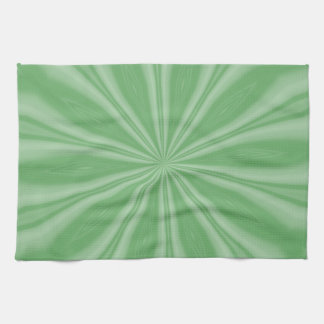 Apple Green Streaks Kitchen Towel