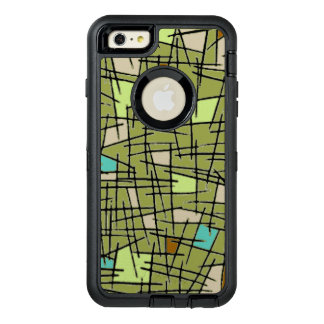 Apple I phone 6 case with abstract design.