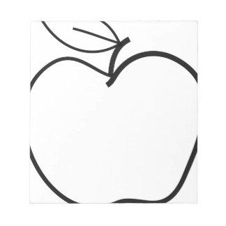 Apple Illustration Notepad