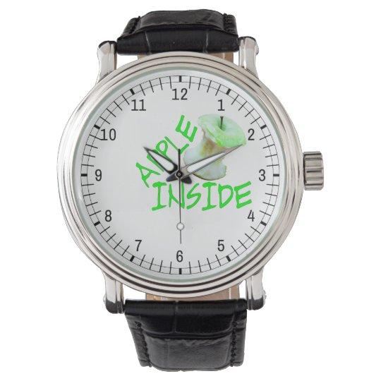 Apple Inside Wristwatches