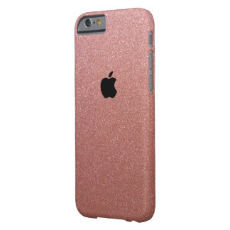 Apple Iphone 6/6s Rose Gold Glittered Iphone Case