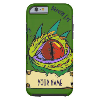 Apple iPhone 6 Case YOUR NAME Dragon Eye
