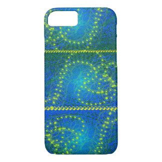 Apple iPhone 7, Barely There Phone Case-blue&yello iPhone 8/7 Case