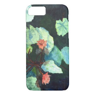 Apple iPhone 7, Barely There Phone Case -Lilies