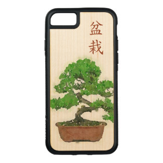 Apple iPhone 7 Bumper Wood Case : Bonsai Tree