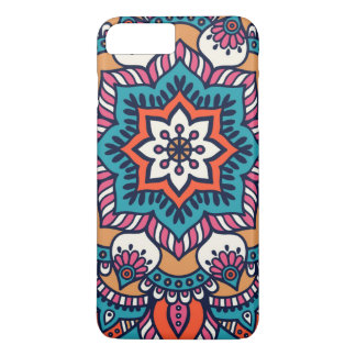 Apple iPhone 7 case colorful floral pattern