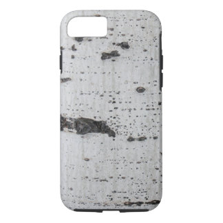 Apple iPhone 7 Case with Aspen Tree Bark Picture