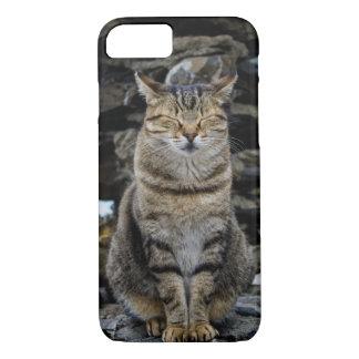 Apple iPhone 7 Case with Italian Cat