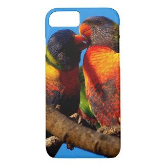 Apple iPhone 7 case with Rainbow Lorikeet photo