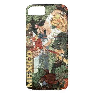 Apple iPhone 7, Mexico vintage image iPhone 8/7 Case