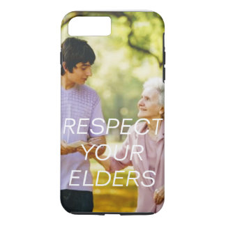 Apple iPhone 7 plus RESPECT YOUR ELDERS case