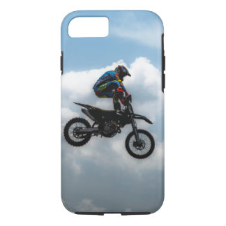 Apple iPhone 7, Tough Phone Case with a biker