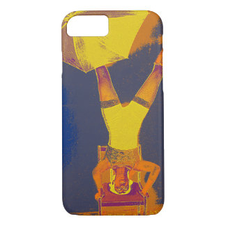Apple iPhone 8/7, Barely There Circus Art Acrobat iPhone 8/7 Case