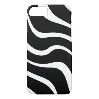 "Apple iPhone 8/7 case ""Kenya"" - Black and white"