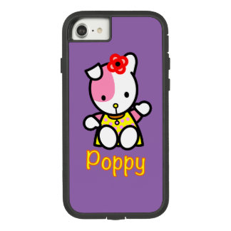 Apple iPhone 8/7 Tough Xtreme case showing Poppy.
