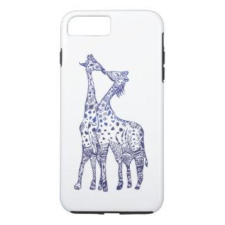 Apple iPhone 8 Plus/7 Plus, Tough Animals Kiss iPhone 8 Plus/7 Plus Case