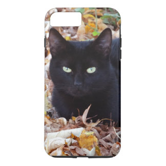 Apple iPhone 8 Plus/7 Plus, Tough Black Cat Photo iPhone 8 Plus/7 Plus Case