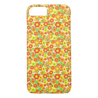 Apple iPhone Case - Orange Flowers